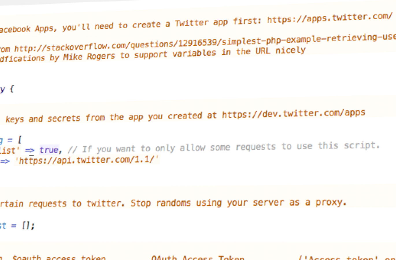 Tutorial - Retrieving tweets from the Twitter v1 1 API using