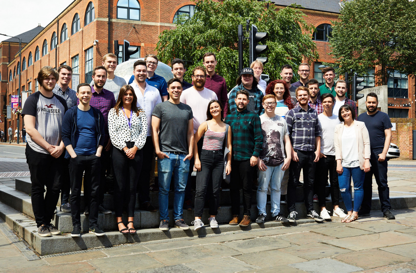 Parallax Agency team in Leeds