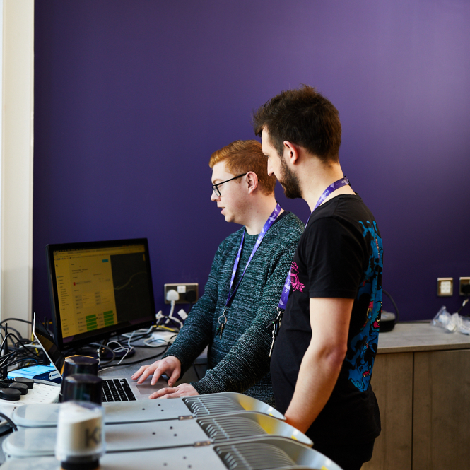 Jamie Sefton, Head of Backend and Andy Hart, PHP Developer